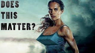 Lara Croft's b00bz - The Issue Of The Century