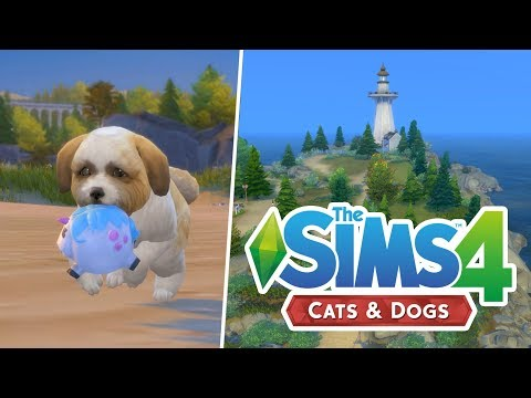 FIRST LOOK AT THE SIMS 4: CATS & DOGS GAMEPLAY