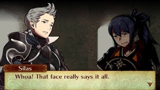 Fire Emblem Fates: Birthright - Oboro & Silas Support Conversations