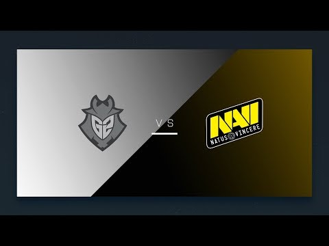 CS:GO - G2 vs. Na'Vi [Overpass] Map 1 - EU Day 18 - ESL Pro League Season 6