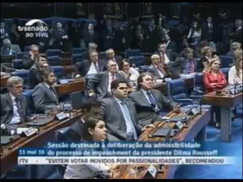 Discurso Histórico de FERNANDO COLLOR no impeachment de DILMA ROUSSEFF