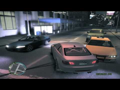 GTA IV Max Settings On 9600 GT RESOLUTION 1024x768 [HD]
