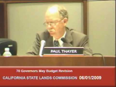 California State Lands Commission Hearing on Offshore Oil Drilling (1 of 7)