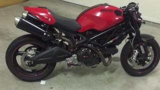 Ducati monster 696 walk around + start up