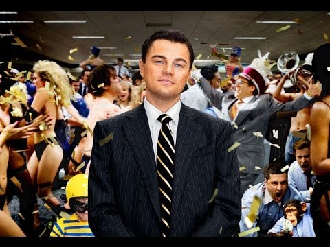 The Wolf of Wall Street (Starring Leonardo DiCaprio) Movie Review