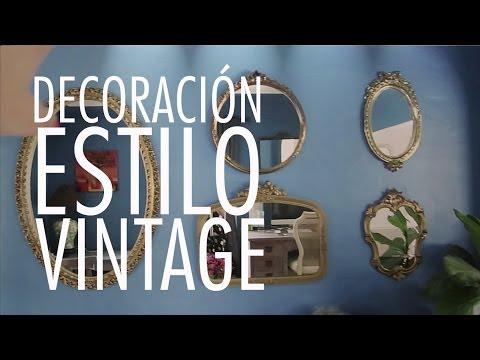 DIY: Tips para decorar tu casa estilo Vintage