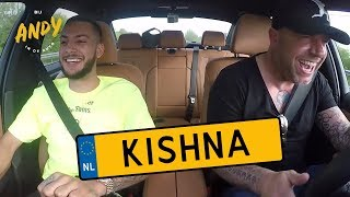 Bij Andy in de auto - Kishna
