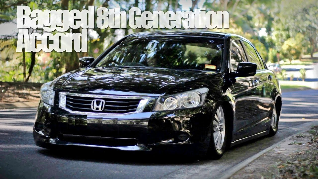 Bagged Accord 8th Gen Youtube