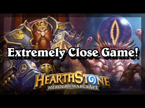 Hearthstone - Extremely Close Game!