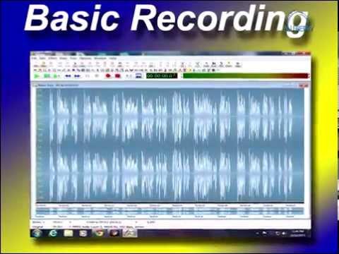 Goldwave tutorial, basic recording/playback