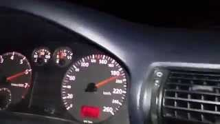 Audi A4 b5 1.8t 0-260kmh