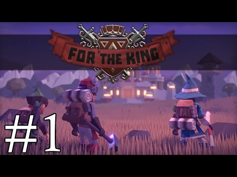 For the King! - Doomed Quest - Part 1 Let's Play For the King Gameplay