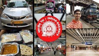 Train Journey To Hyderabad ||  Bengaluru-Kacheguda Express ft Namma Metro & Ola Cabs || #RCTravels
