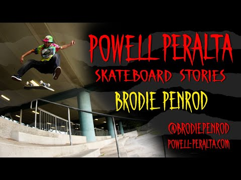 Powell Peralta Skateboard Stories - Brodie Penrod