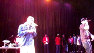 Fabolous Featuring Drake - Throw It In The Bag Remix Live @ Liu.