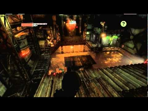 Batman Arkham City Predator Challenge room- meltdown mayhem (Robin)