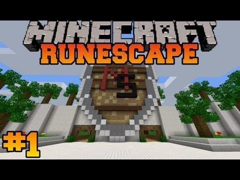 Minecraft: Runescape Let's Play - Episode 1 - The Journey Begins (MineScape Server)