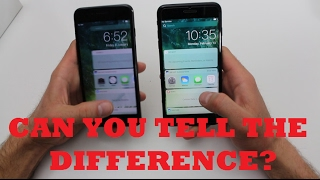 $100 FAKE iPhone 7 Plus vs $1000 REAL Apple iPhone 7 Plus (BEWARE)