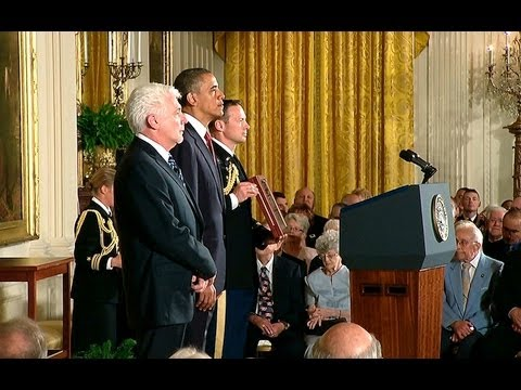 President Obama Awards Chaplain Emil Kapaun the Medal of Honor