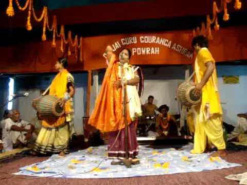 lila kirtan at ghatsila Om Jai Guru Gouranga Ashram Powrah