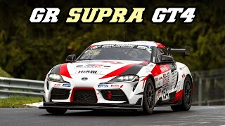 Toyota GR Supra GT4 - First VLN race of 2019