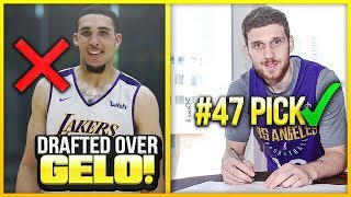 The Lakers Drafted THIS GUY Over LIANGELO BALL.. And He Became A STAR!
