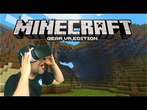 Minecraft Gear VR Gameplay - Immersion Mode (Minecraft VR)