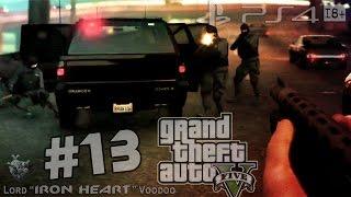 """GTA 5 (PS4) Прохождение [Угон авто спецназа] Часть #13 ► Геймплей PS4 """"Grand Theft Auto V"""" видео"""