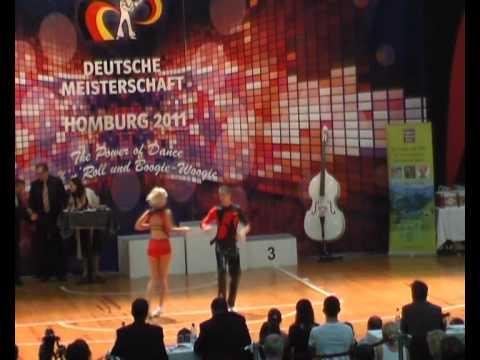 Carina Schramm & Benjamin Schramm - Deutsche Meisterschaft 2011