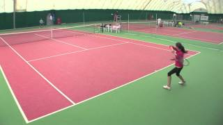 Storozheva Maria College Tennis Recruiting Video - Fall 2013
