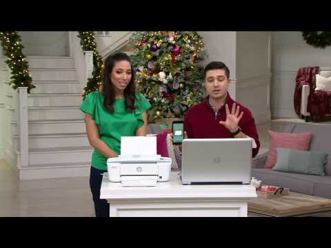 HP Deskjet 3752 All-in-One Printer, Copier & Scanner & Instant Ink on QVC