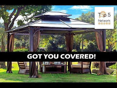 TOP 5 garden gazebos