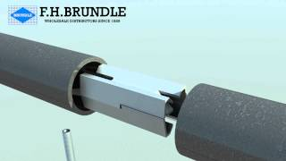 F H Brundle - Splice Lock used for joining tube - Single version