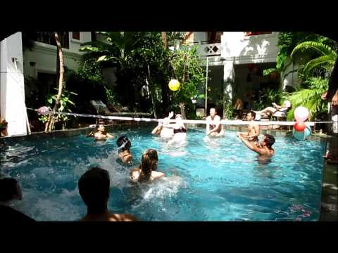 Volleyball at the Golden Banana Boutique Hotel