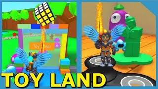 NEW TOY LAND WORLD (Roblox Blob Simulator with my Little Nephew)
