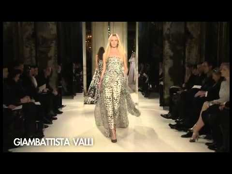 Giambattista Valli. Paris Alta Costura P-V 2013