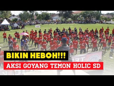 Aksi Joget Temon Holic Ala anak SD #PART_II