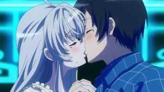 Haiyore Nyaruko-san! F Nyaruko and Mahiro Kiss