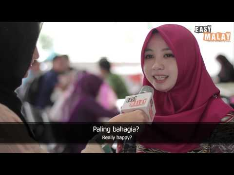 Easy Malay 9 - What makes you happy? thumbnail