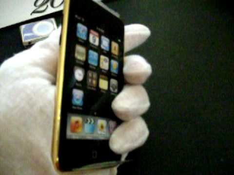 24K Gold Apple iPhone 3G & Apple Products (3G iPhone & iPods)