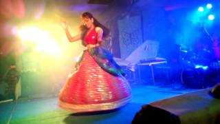 A beautiful and attractive performane by new jolite devalina at biswakarma puja 2k16