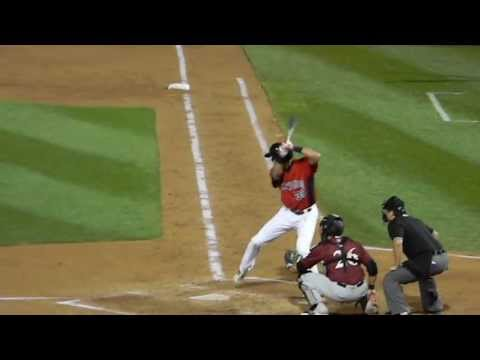 Rangers Prospect Joey Gallo Hit @SAL AllStar Game 6/18/13 HD