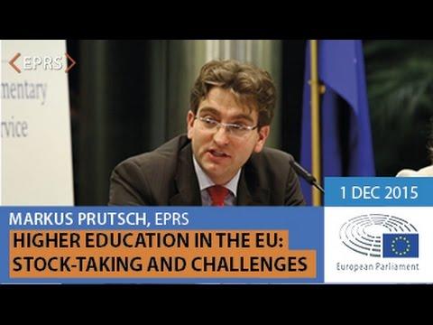 EUI Higher Education in the EU, Presentation by Markus PRUTSCH, 1 December 2015