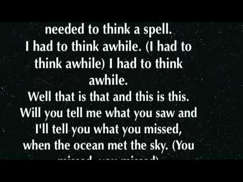 The Ocean Breaths Salty - Modest Mouse (With lyrics)