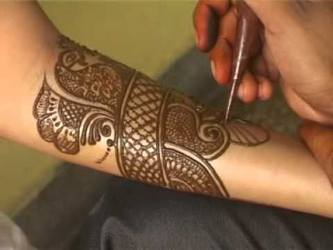 How To Make Henna Mehendi Designs   Bridal Mehendi by Sunil...