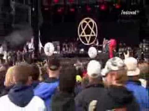 Him - Right Here In My Arms(LIVE AT ROCK AM RING 10 :)