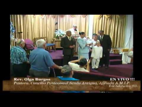 Culto Evangelistico Concilio Pentecostal Senda Antigua Amip Tampa Bay. 07-19-2015