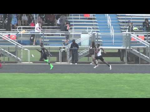 Mt. Hebron High School Boys 4 x 100M Relay @ 3A East Regionals May 2013