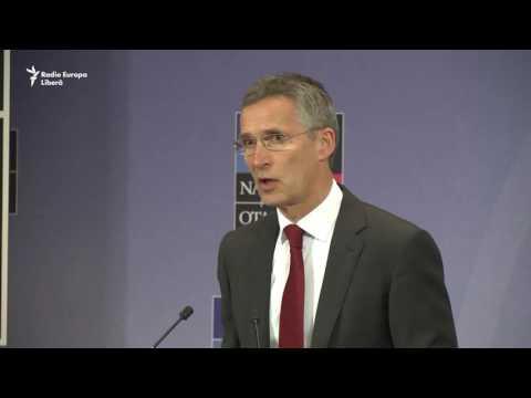 Secretarul general al NATO Jens Stoltenberg vorbind despre pregătirea summitului de la Varșovia (I)
