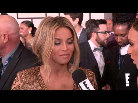 Pregnant Ciara Glows at 2014 Grammys (E! Online)
